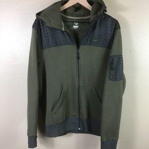 Nike The Athletic Dept Olive Green Jacket